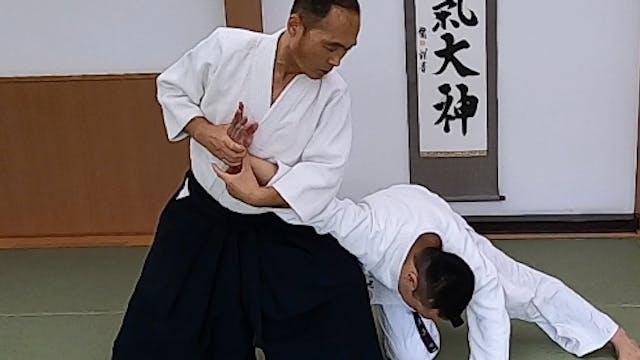肘締め Hijishime