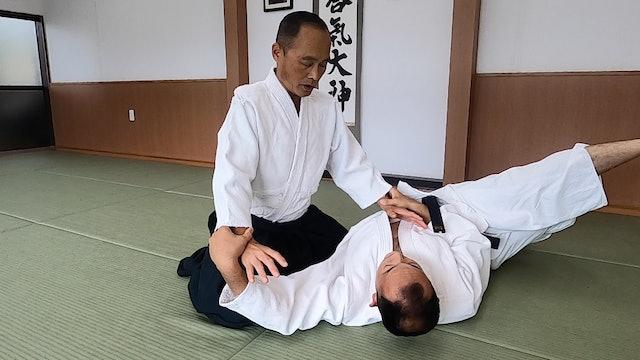 座り技両手持ち呼吸法(一)新!Suwari waza ryote mochi kokyuho (1) New Version! 2020/08