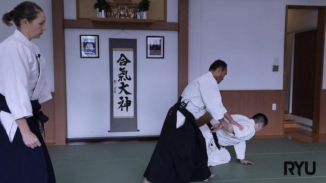 正面打ち一ヶ条抑え(一)新!Shomen uchi ikkajo osae (1) New version! 2020/07