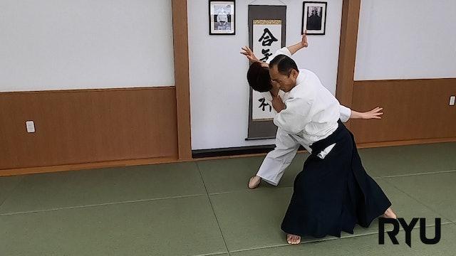 横面打ち正面入り投げ(二)新!! Yokomen uchi shomen iriminage (2) NEW VERSION! 2020/01