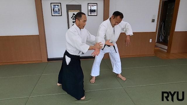 正面打ち肘当て呼吸投げ(一)新!Shomen uchi hijiate kokyunage (1) NEW VERSION!! 2021/05