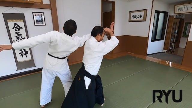 片手もち四方投げ(一)新!Katate mochi shihonage (...