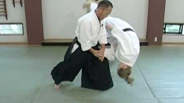 正面打ち小手返し(二) Shomen uchi kotegaeshi (2)