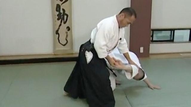 正面打ち三ヶ条抑え(一)Shomen uchi sankajo osae (1)