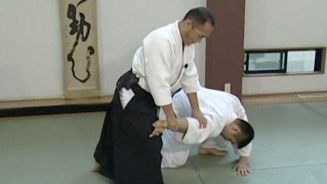 正面打ち一ヶ条抑え(一) Shomen uchi ikkajo osae (1)