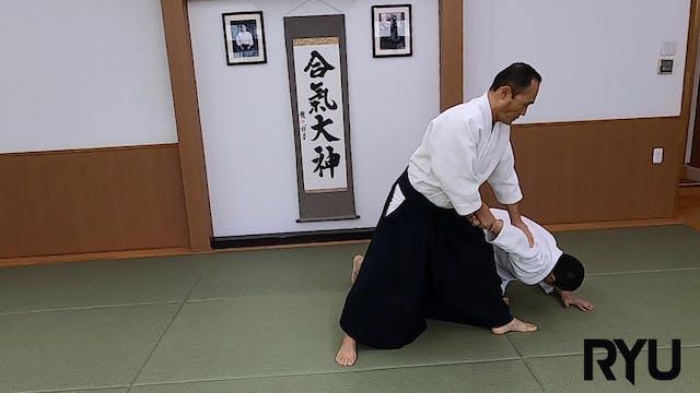 正面打ち一ヶ条抑え(一)新!Shomen uchi ikkajo osae...