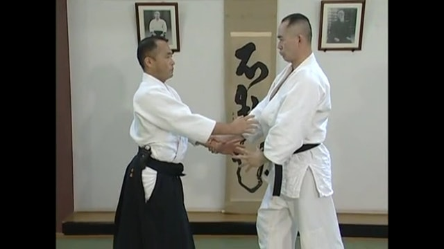 片手持ち四方投げ(一) Katate mochi shihonage (1)