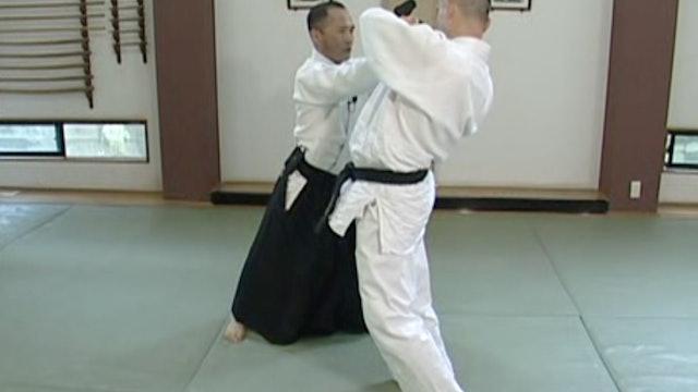横面打ち正面入り身投げ(二) Yokomen uchi shomen iriminage (2)