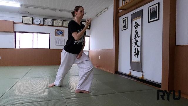 2021/6/27 龍オンラインfor all: ステファニー先生 Ryu ZOOM Aikido: Stephanie Sensei