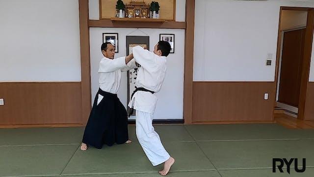 横面打ち側面入り身投げ(二)新!Yokomen uchi sokumen ...