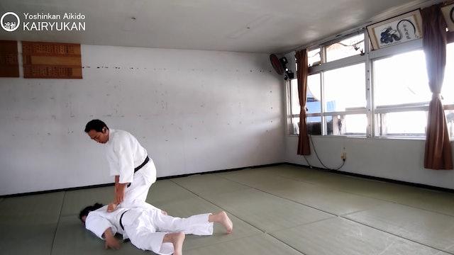 2021/6/12 龍オンラインfor all: 比嘉先生 Ryu ZOOM Aikido: Higga Sensei