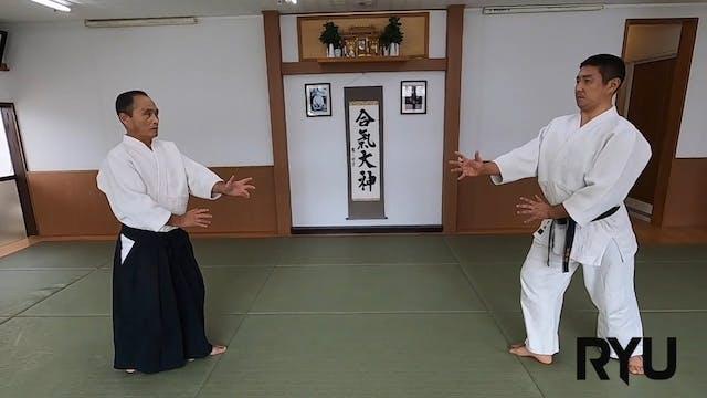 正面打ち一ヶ条抑え(二)新!Shomen uchi ikkajo osae...