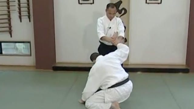 片手持ち二ヶ条抑え(二) Katate mochi nikkajo osa...