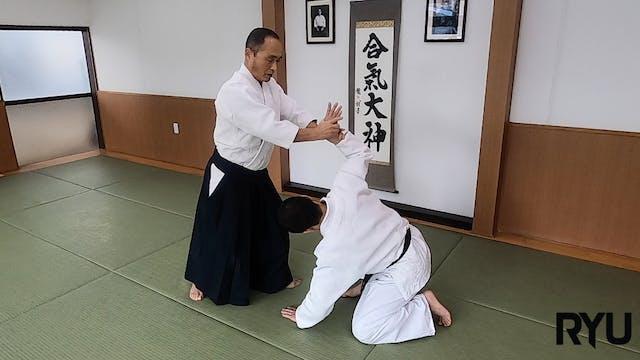 正面打ち二ヶ条抑え(二)新!Shomen uchi nikkajo osa...