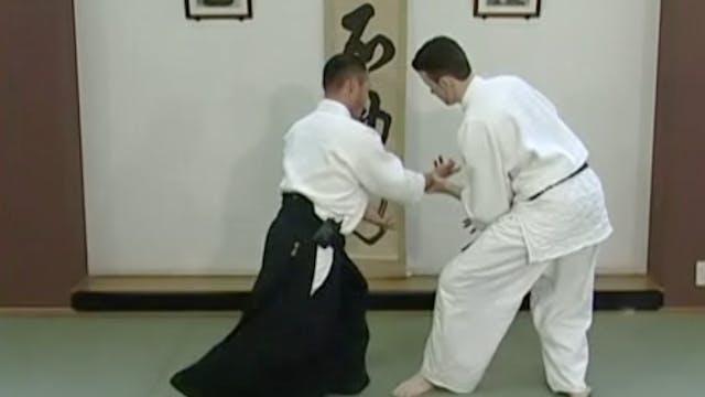 片手持ち側面入り身投げ(一) Katate mochi sokumen i...
