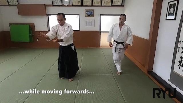 片手持ち側面入り身投げ(二)新!Katate mochi sokumen iriminage (2) NEW VERSION!! 2020/08