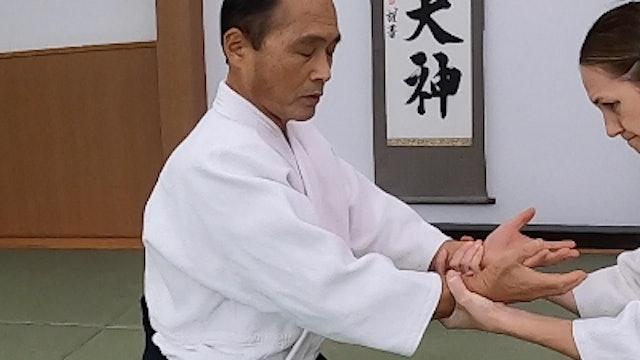 座り技両手持ち呼吸法(四)新!Suwari waza ryote mochi kokyuho (4) NEW VERSION!! 2020/10