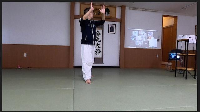 2021/05/29 龍オンラインfor all: 秋元先生 Ryu Online for all ZOOM Aikido: Akimoto Sensei