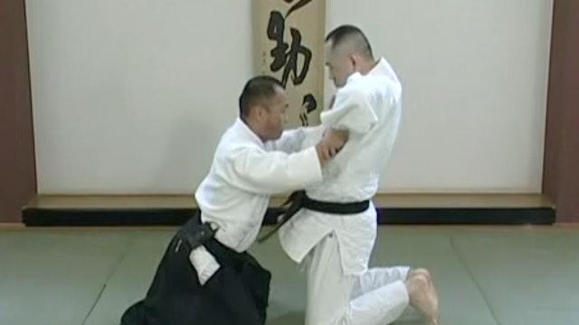 座り技両手持ち呼吸法(一) Suwari waza ryote mochi kokyuho (1)