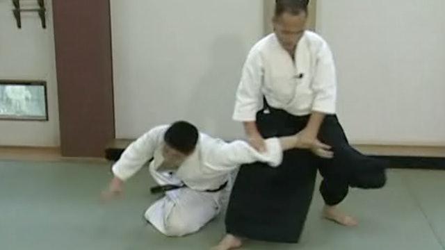 正面打ち一ヶ条抑え(二) Shomen uchi ikkajo osae (2)