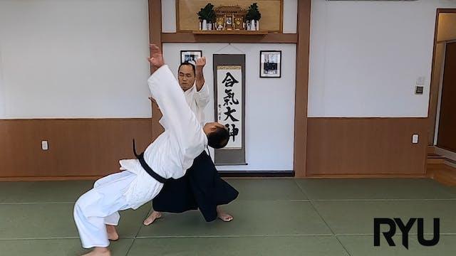 正面打ち側面入り身投げ(一)新!Shomen uchi sokumen i...