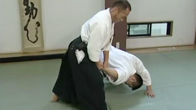 正面打ち四ヶ条抑え(一) Shomen uchi yonkajo osae...