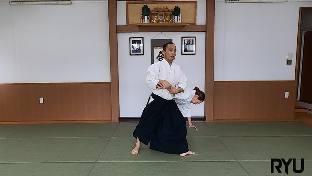 正面打ち肘締め(二)新!Shomen uchi hijishime (2) NEW VERSION! 2021/04