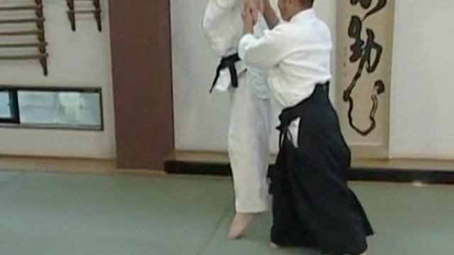 正面打ち三ヶ条抑え(二) Shomen uchi sankajo osae (2)
