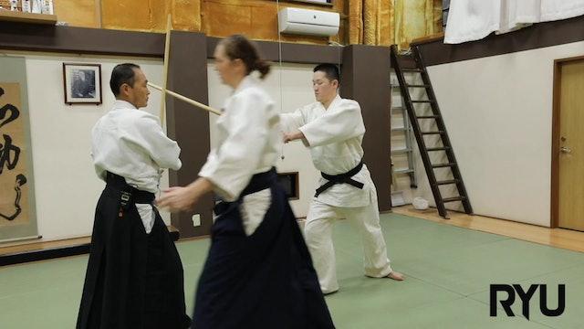 水車勢 新!! Suishase (Exercise practising strikes and blocks.) NEW!!! 2020/08