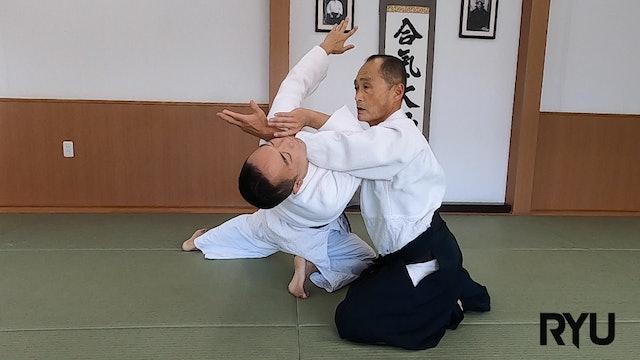 座技片手持ち側面入り身投げ(一)Suwari waza katate mochi sokumen iriminage (1) NEW! 2021/10