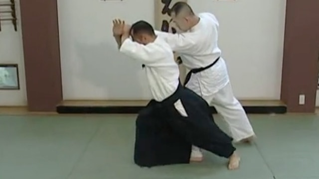 片手持ち四方投げ(二) Katate mochi shihonage (2)