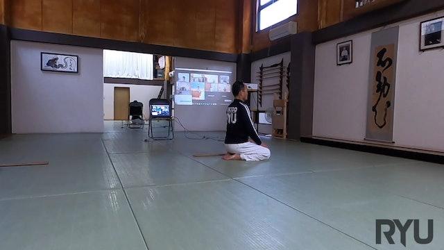 2021/06/05 龍オンラインfor all: 安藤師範 Ryu Online for all ZOOM Aikido: Ando Shihan