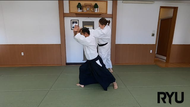片手持ち四方投げ(二)新!Katate mochi shihonage (...