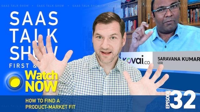 Episode 32: How to Find a Product-Market Fit