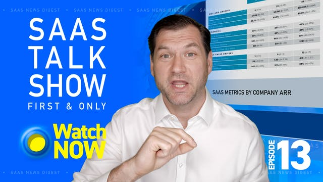 Episode 13: Do you know your SaaS Met...