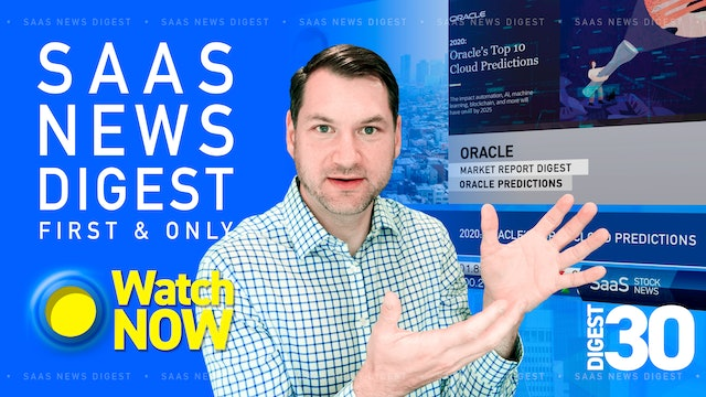 News Digest 30: 2020 Oracle's Top 10 Cloud Predictions