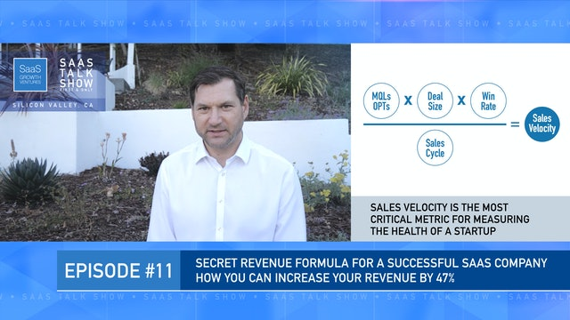 Episode 11: The Secret Revenue Formula for a Successful SaaS Company