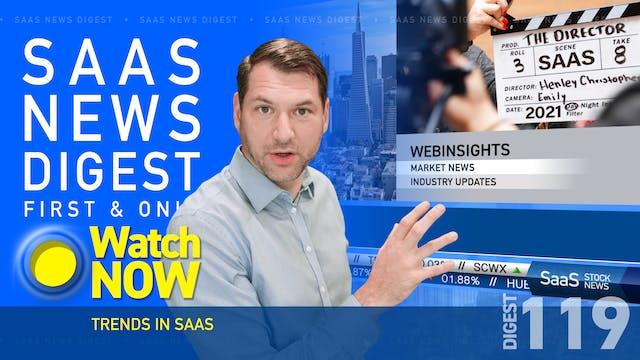 News Digest 119: Trends In SaaS