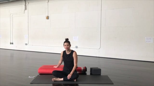 Restorative with Malerie (50 Mins)