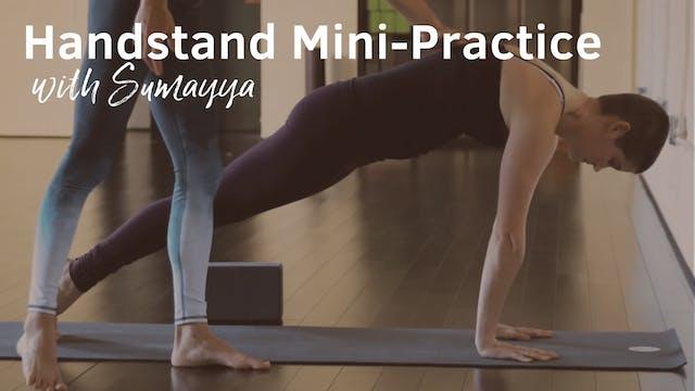 Tuturial - Handstand Mini Practice