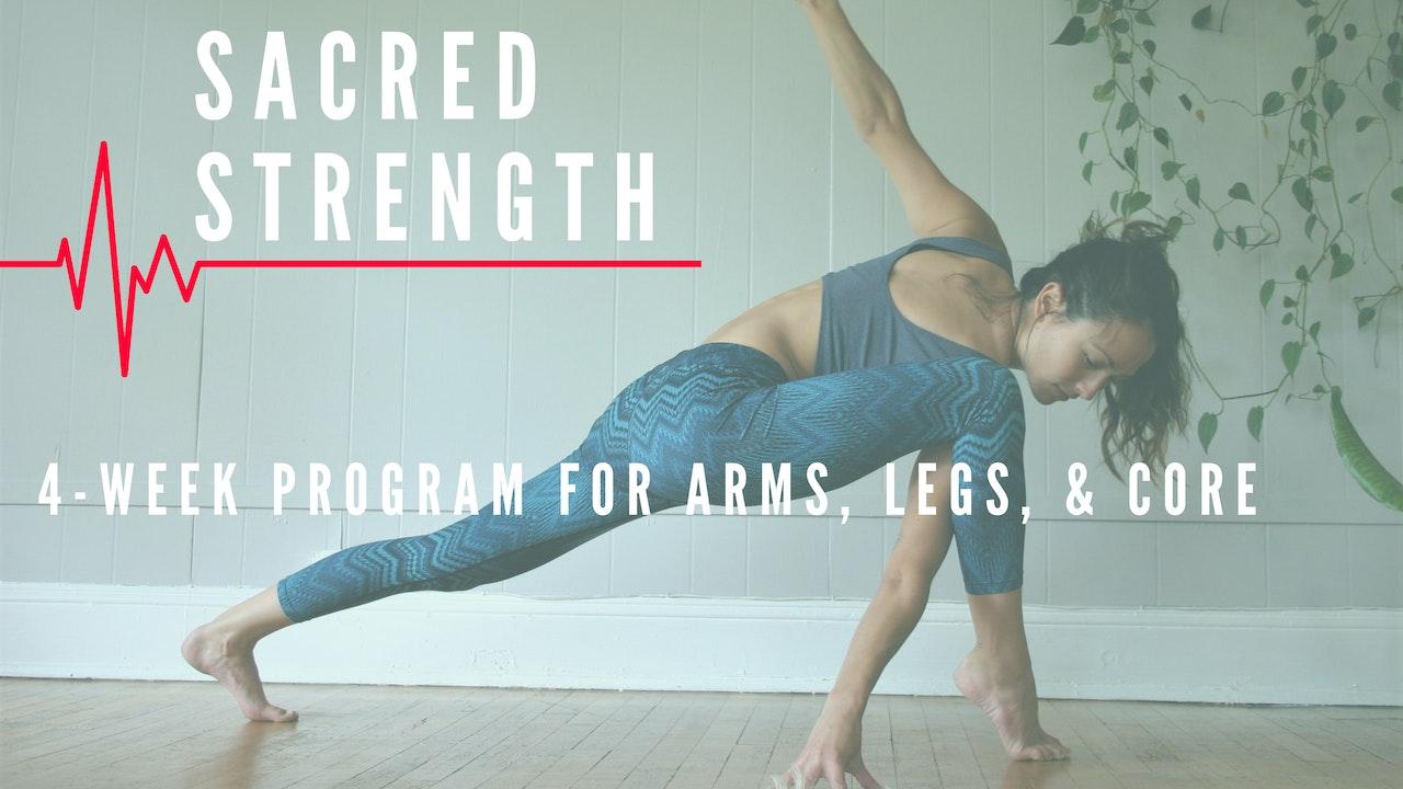 Sacred Strength 4-Week Series