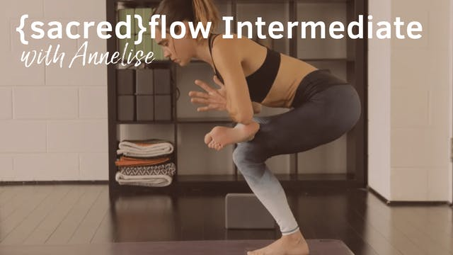 {sacred}flow with Annelise, 40-Minutes