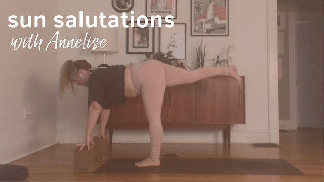 Sun Salutations with Annelise, 45 Minutes