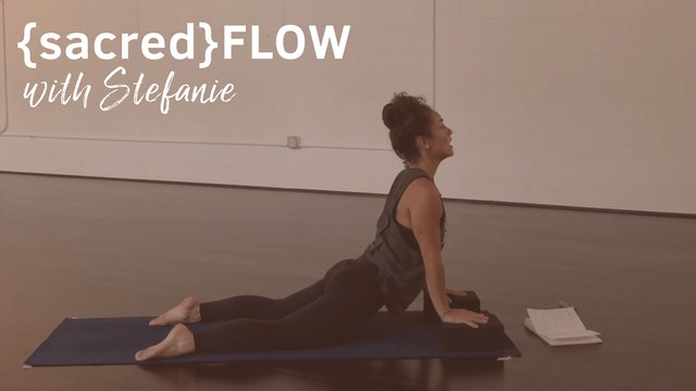 {sacred}flow All Levels with Stefanie, 55 Minutes