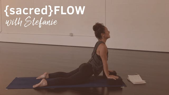 {sacred}flow All Levels with Stefanie...
