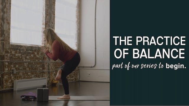 The practice of Balance