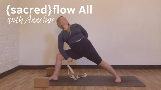 {sacred}flow All Levels with Annelise, 60 Minutes