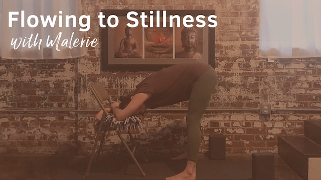 Flowing to Stillness with Malerie, 50 minutes