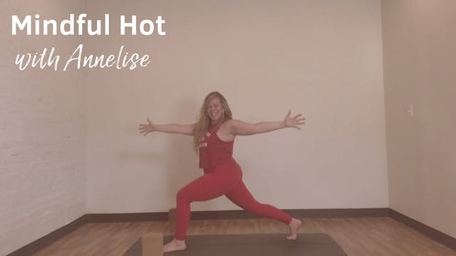 Mindful Hot with Annelise, 50 Minutes