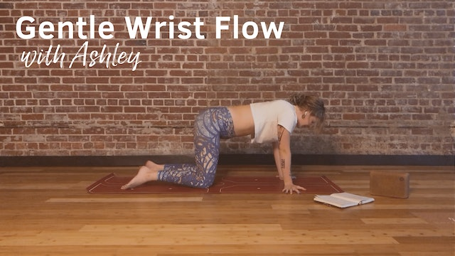 Gentle Seated Flow for Wrists with Ashley, 17 minutes
